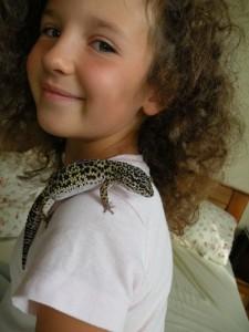 Córka autora Nataliaz gekonem lamparcim (2007 r.)